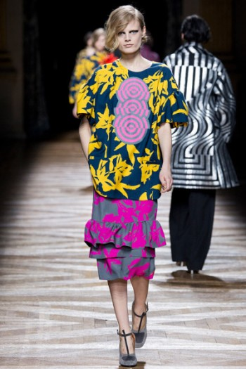 модная юбка Dries Van Noten