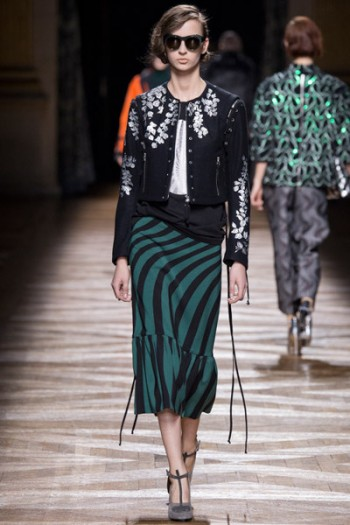 Dries Van Noten осень-зима 2014-2015